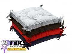 Подушки на стілець 40х40, табурет, подушка для дому, ресторану