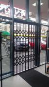Раздвижные решетки металлические на окна, двери, витрины.Одесса