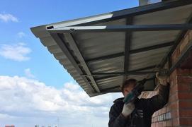 Repair of canopies of balconies Kharkiv