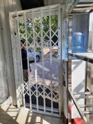 Решетки раздвижные, откатные, распашные на двери и окна Одесса
