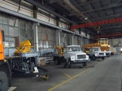 We will convert your truck into an AP-17 aerial platform